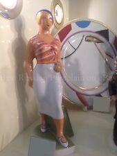 Russian Imperial Lomonosov Porcelain Figurine Sculpture Walking girl Danko LFZ