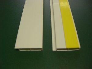 PVC – Abdeckleiste Hohlkammerleiste KA 80 x 7 selbstklebend