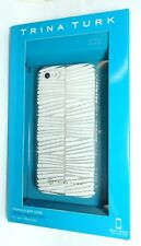 Trina Turk - Translucent Phone Case for iPhone 5/5S/SE - Descanso White/Clear