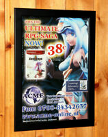 Xenosaga Episode I Rare Small Poster / Vintage Ad Page Framed PlayStation 2 PS2