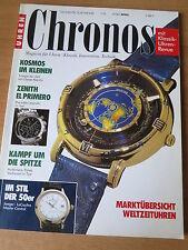 CHRONOS Nr. 2 1993 - Uhren Zeitschrift, Uhrenheft, Magazin