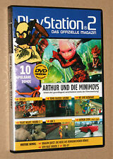 PlayStation 2 la revista oficial demo DVD Okami Tomb Raider etc 01/2007