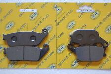 FRONT REAR BRAKE PADS fits HONDA VTX 1300, 2003-2013 VTX1300 VTX1300C VTX1300S