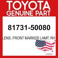 TOYOTA GENUINE 81731-50080 LENS, FRONT MARKER LAMP, RH OEM