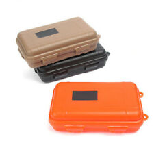 3 Colors Waterproof Shockproof Box Plastic Outdoor Survival Container Cases