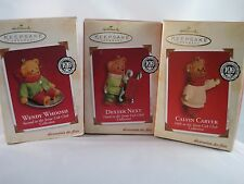 Hallmark Snow Cub Club - Lot of 3 - Second, Third and Fifth in Series