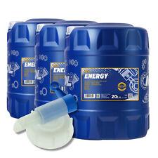 20l MANNOL L'huile de moteur Énergie 5w-30 API Sl/cf Rinçage Flush