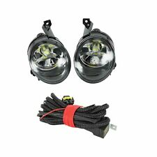 2Pcs For VW Caddy 2004-2008 Fog Light Fog Lamp With LED Bulb And Wire