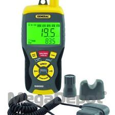 General Tools RHMG650, 9-in-1 Thermo-Hygrometer with Pin/Pinless Moisture Meter