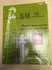Keily & Mueller Catalog~K&M 2600 Flexotrol Liquid Level Controllers