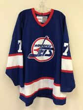 11e9833c5af Vintage Keith Tkachuk Winnipeg Jets NHL Hockey Jersey Mens Size Jumbo Blue  White