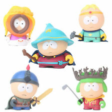 South Park Stan Kyle Eric Kenny Leopard 5 PCS Action Figure Doll Gift For Kids