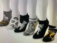 New Women's THE LION KING No-show 6 pair Socks - Shoes Size 4-10 King