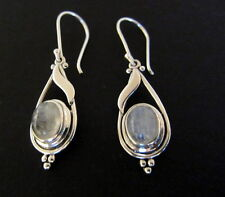 NEW JTV Artisan Collection Cabochon Moonstone Sterling Silver Earrings $119Value