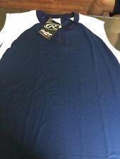 Rawlings Ladies Softball Button Up Sleeveless Jersey SIZE 2XL