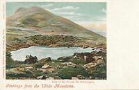 WHITE MOUNTAINS NH - Lake of the Clouds Mt. Washington - udb (pre 1908)