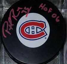 PATRICK ROY HOF SIGNED AUTOGRAPHED  MONTREAL CANADIENS PUCK global authentics GV