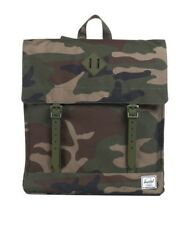 Herschel Supply Co. SURVEY SCOUT BAG Woodland Camo Magnetic Closure Backpack