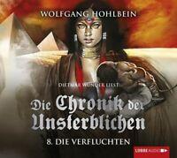 WOLFGANG HOHLBEIN-DIE CHRONIK DER UNSTERBLICHEN-TEIL 8:DIE VERFLUCHTEN 4 CD NEW