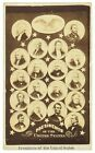 """1869-77 Presidents of the United States 2.5"""" x 4"""" CDV Photo Card"""