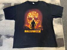 Vintage Halloween Michael Myers Movie Promo T-Shirt Size 2XL Rob Zombie Horror