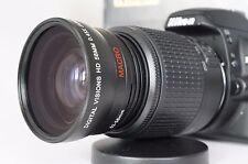 Macro Wide Angle Semi Fisheye Lens for Nikon D Series d7000 d7100 52mm Polarizer
