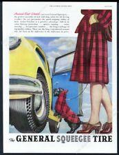 1947 Scottie dog Scottish Terrrier art General Tire vintage print ad