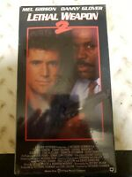 Lethal Weapon 2 (VHS, 1991) Mel Gibson Danny Glover NEW & SEALED