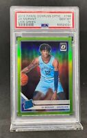 JA MORANT 2019-20 OPTIC #168 LIME GREEN PRIZM RATED ROOKIE RC #/149 PSA 10 GEM M