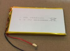 2 PCS 3.7V 8000 mAh 7566125 LiPo Li-ion Polymer Rechargeable Battery
