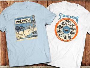 Cycling T-Shirt, Vintage retro cycling bike advert poster, Classic bicycle Ad