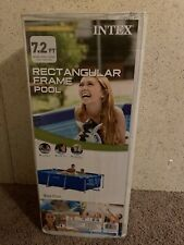 🔥🌊 Intex 86in x 23in Rectangular Frame Above Ground Swimming Pool 🌊Ships Fast