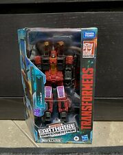 Transformers War For Cybertron Earthrise Voyager Class Thrust Target Exclusive