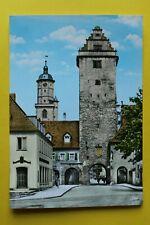 UFR 2) Bayern AK Volkach a. Main 1960-70er Diebenturm Straße Kirche Geschäfte