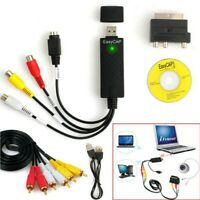 VHS Digitalisierer USB 2.0 Video/Audio Recorder Video Grabber Capture CD Windows