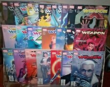 Weapon X #1 thru #22 FULL RUN Marvel Comics SABRETOOTH Wolverine TIERI NM 2002