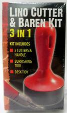 Essdee Lino Cutter & Baren Kit, 3 in 1