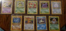 Vintage Pokemon Card Lot *rare cards, holos and first edition*