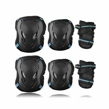 Skating Protective Gear Pads Safety Knee Set Elbow Wrist Cycling Riding Adult