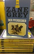 Lot Of 8 Zane Grey Books In German