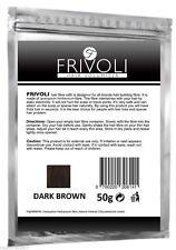 Hair Thickening Fiber Keratin Building Fibre Hair Loss Refill 50g Dark Brown FR