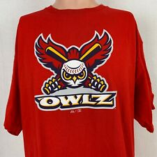 Majestic Orem Owlz Logo T-Shirt MILB Minor League Baseball LA Angles Size XL
