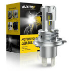 AUXITO H4 9003 HB2 LED Bulb Hi/Lo Beam White Motorcycle Headlight High Power M4