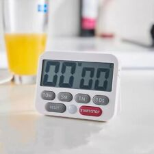 Digital Kitchen Timer Magnetic Cooking LCD Large Count Down Clear Loud Alarm Egg