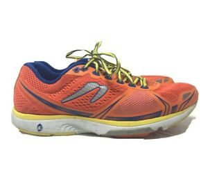 Newton Mens US 12 Motion 5 Orange Running Shoes Sneakers