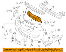 MAZDA OEM 08-10 5-Grille Grill CE49501T1A