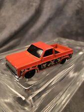 2007 Mattel 83' Chevy Silverado Tm Gm Orange W/ Camouflage Stripe Vtg.
