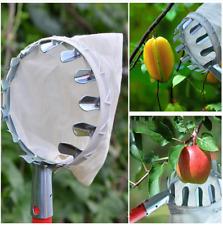 Fruit Picker Portable Metal Garden Fruit Picker for Agricultural Work Upper Air