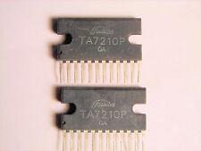 "TA7210P  ""Original"" Toshiba  12P SIP IC  2  pcs"