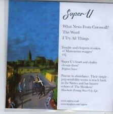 (BB113) Super U, What New From Cornwall? - DJ CD
